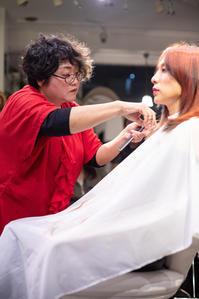 vol.118「小林 恵の仕事」 - Monthly Live    営業後の美容室での美容師による単独ライブ