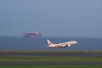 HND - 568 - fun time (飛行機と空)