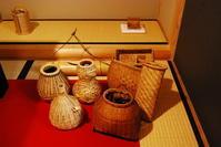 びく籠の種類今あるほんの一例 - 懐石椿亭 公式weblog北陸富山の懐石料理屋