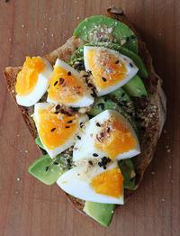 オープンサンドで朝ごパン - Nasukon Pantry