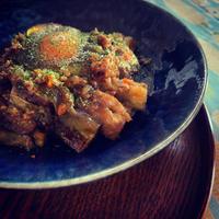 soramama café☆茄子とひき肉の照り焼き丼 - SORANKO