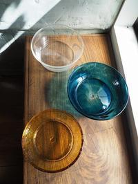 6寸くらいの硝子鉢 - うつわshizenブログ