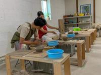 本日の陶芸教室 Vol.920,921 - 陶工房スタジオ ル・ポット