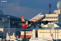 小型機歓迎A320香港航空(HX) - 飛行機の虜