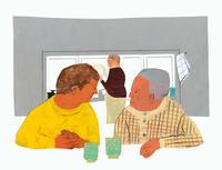 挿し絵の仕事新聞連載「未踏の老いを生きる05」 - yuki kitazumi  blog
