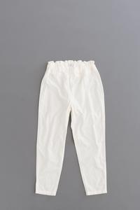 FIRMUM20s Rough Cotton Sheeting Inner Pants - un.regard.moderne
