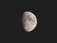 立秋の月 - しらこばとWeblog