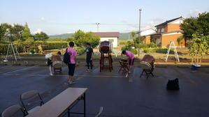 三和愛宕の園納涼会で演奏してきました -