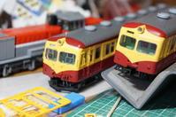 【鉄道模型・HO】TOMIX 70系 新潟色 整備 - kazuの日々のエキサイトな企み!