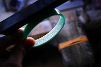 G.D.C.D 15周年限定バングル製作過程③Grand Customized 15th Anniversary - アクセサリー職人 モリタカツヤ MOHI silver works  Jewelry Factory KUROBE