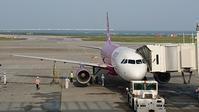 台北へ出発 - 南の島の飛行機日記
