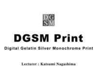 DGSM Print ワークショップの開催のお知らせです! - 写真家 永嶋勝美の「散歩の途中で . . . !」