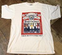 8月12日(月)入荷!90s デッドストックバドワイザーパロディーTシャツ!Buttwiser - ショウザンビル mecca BLOG!!