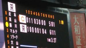 19・08・11阪神戦【生観戦記2019】 - 新★跳ねすぎ!まるた鯉