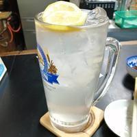 鼻血ブー!!でも呑むよね『橘』新松田 - 三毛猫酒場で朝から酎ハイ。。