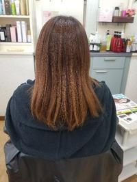 before根元も伸び、褪色... - ヘアーサロンササキ(釜石市大町)のブログ
