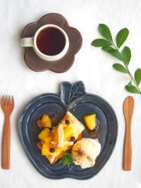 アップルパイとりんご皿 - 陶器通販・益子焼 雑貨手作り陶器のサイトショップ 木のねのブログ