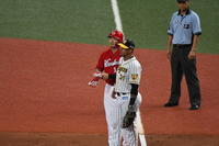 2019-08-11 京セラドーム対阪神タイガース - フィオさんの気まぐれカープ写真館