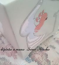 角香炉色盛り☆ - Italian styleの磁器絵付け