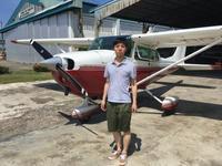 英語留学生がたくさん - ENJOY FLYING ~ セブの空