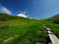 夏の月山雪渓を越えて - tokoya3@