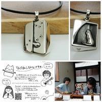 猫ちゃんのペアペンダントオーダーメイド|岡山 - 工房Noritake