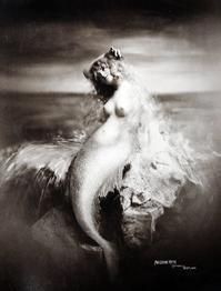 antique photograph:mermaid - Books