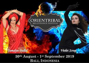 ORIENTRIBAL in Bali2019 - Belly Dancer Reehaneは時々ジャカルタ