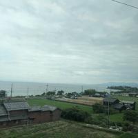 金沢から京都へ。JR西日本の在来特急「雷鳥号(サンダーバード)」にて - BLOWIN' IN THE WIND