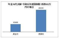 年金収入で暮らす高齢者世帯(70才夫婦)の国保税が重い - ながいきむら議員のつぶやき(日本共産党長生村議員団ブログ)