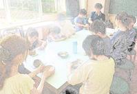 翼の会陶芸教室8月13日(火) - しんちゃんの七輪陶芸、12年の日常
