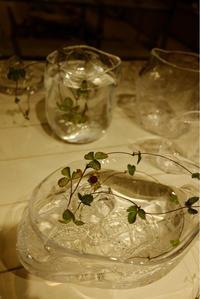 最終日。水月(みずつき)takatomi daisuke glass show @札幌大丸 - glass cafe gla_glaのグダグダな日々。