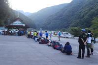 仙丈ヶ岳190813雨の頂上 - 週末は山にいます