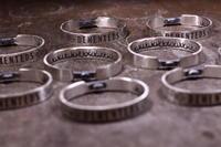 G.D.C.D 15周年限定バングル製作過程④Grand Customized 15th Anniversary - アクセサリー職人 モリタカツヤ MOHI silver works  Jewelry Factory KUROBE