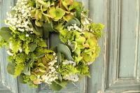 夏のリース - 北赤羽花屋ソレイユの日々の花