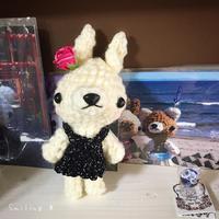 [ColleCtion plus...さん] 今月いっぱいで委託販売終了のお知らせ。 - Smiling * Photo & Handmade 2 動物のあみぐるみ・レジンアクセサリー・風景写真のポストカード