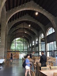海洋博物館のカフェテラス - gyuのバルセロナ便り  Letter from Barcelona