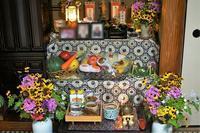 ■今年もお盆の花は自前で何とか全部賄う事が出来ました^^ - 「料理と趣味の部屋」
