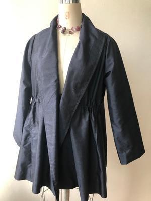着物リメイク・大島からボリュームジャケット - harico couture