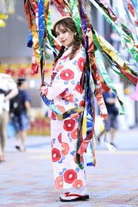 浴衣 in 円頓寺商店街 【中村かな】 - taka-c's ふぉとらいふ Season2