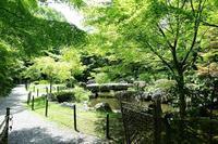 長岡天満宮錦景園 - レトロな建物を訪ねて