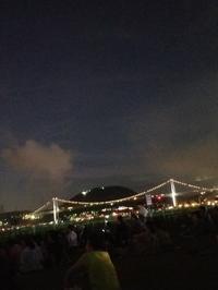 関門花火大会🌉 - takakomamaのキルトパラダイス