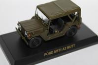 1/64 Kyosho MILITARY VEHICLE FORD N151 A2 MUTT - 1/87 SCHUCO & 1/64 KYOSHO ミニカーコレクション byまさーる