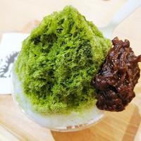 NEWoMan新宿「トラヤカフェ AN STAND」 - 福岡の抹茶かき氷