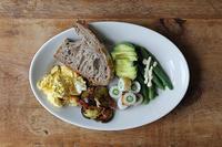 丸オクラで朝ごパン - Nasukon Pantry
