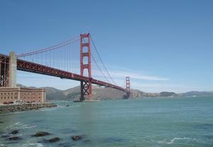 ゴールデン・ゲート・ブリッジはやっぱり美しい橋だ。 - 役に立たないけれど面白いこと。