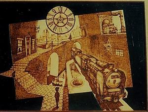 トレインアート「無題」 - 鉄道少年の日々