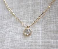 lien(リアン) ホワイトダイヤモンドネックレス - hiroe  jewelryつくり