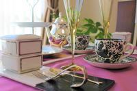 テーブルコーディネート☆9月 実習クラスのご案内 - 神戸・芦屋発 お茶とお菓子とテーブルコーディネート