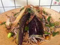 8月12日。紫蘇ミョウガ蕎麦 - 今夜のおかず
